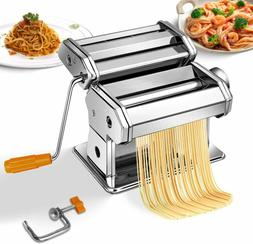 Pasta Maker Stainless Steel Roller Machine for Fresh Noodle