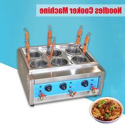 Pasta Noodles Cooker Electric Machine 4/6 Holes 220v Multi-f