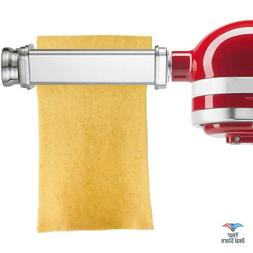 Pasta Roller Attachment For Kitchenaid Noodle Maker Spaghett
