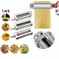 Pasta Roller Cutter Attachment For Kitchenaid Noodle Maker S