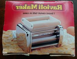 IMPERIA Ravioli Maker Pasta Machine Attachment With Accessor