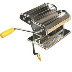 "Weston Roma Stainless Steel 6"" Manual Pasta Machine"