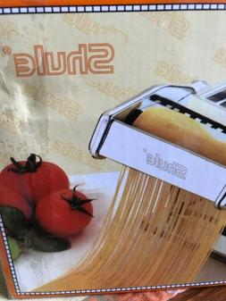 SHULE  MANUAL PASTA MAKER NEW Stainless Steel Heavy Duty
