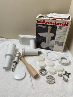 KitchenAid SNFGA Pasta Maker Stand Mixer Attachment w/ Food