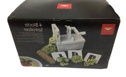 Paderno World Cuisine Spiralizer Pro, 4-Blade, New