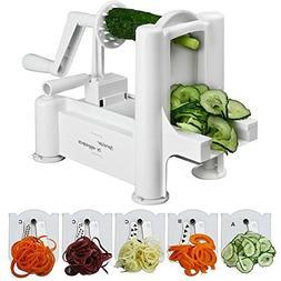 Spiralizer Best Vegetable Maker, Spiral Slicer, Peeler, and