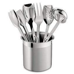All-Clad Stainless Steel 6 Piece Cook Serve Tool Set