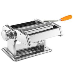 OxGord Stainless Steel Fresh Pasta Maker Roller Machine for