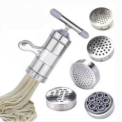 Stainless Steel Fresh Pasta Maker Press Machine for Fettucci