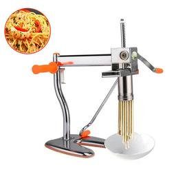 Stainless Steel Fresh Pasta Noodle Dough Maker Cutter Roller