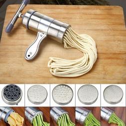 Stainless Steel Fresh Pasta Spaghetti Noodle Maker Kitchen M