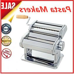 Stainless Steel Manual Pasta Makers DIY Noodle Spaghetti Kit