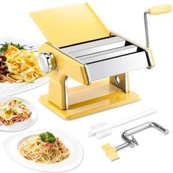 Stainless Steel Pasta Machine 7 Adjustable Thickness Setting