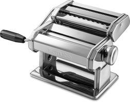 stainless steel pasta maker roller cutter chrome