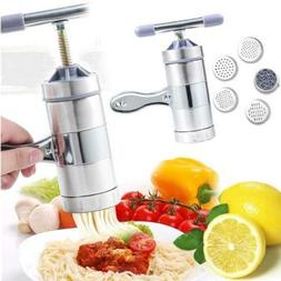 Stainless Steel Pasta Noodle Maker Fruit Juicer Press Spaghe