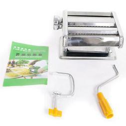 Steel Pasta Maker Noodle Making Machine Dough Cutter Roller