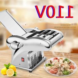 US 110V Electric Dumpling Dough Skin Noodles Pasta Maker Mac