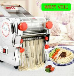 110V 22cm Electric Pasta Press Maker Noodle Machine Dumpling