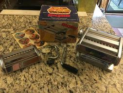 VINTAGE MARCATO 150 PASTA Noodle Maker Machine Stainless Ste