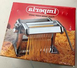 Vintage IMPERIA de Luxe Home-made Pasta Machine SP150 NEW IN
