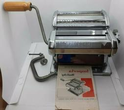 Vintage Imperia Pasta Noodle Making Maker Machine Made In It