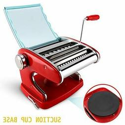 VOLIGO Pasta Maker Machine Pasta Roller Manual Noodle Maker