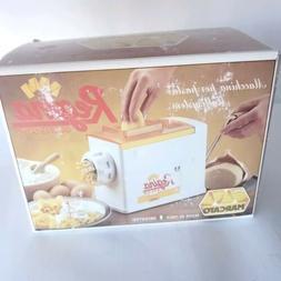 Vtg Regina Atlas OMC Marcato Pasta Maker Extruder 5 Dies Dis