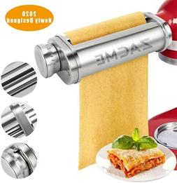 ZACME Pasta Maker Attachment Washable Stainless Steel